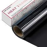 Vinilo Textil Termoadhesivo - Rollo de Vinilo Transferencia de Calor de 30 x 365 cm, para Cricut y...