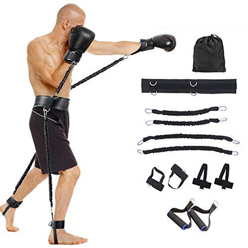Allenatore di fasce elastiche per la velocit e l'agilit di tutto il corpo da 100 libbre - Set...