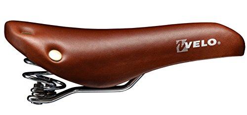 Fahrrad Sattel Schraubenfeder Nieten Braun Vintage