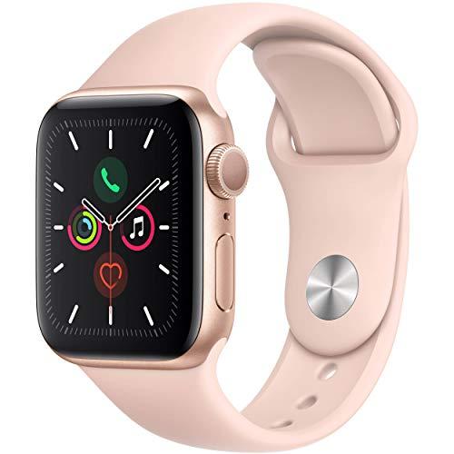 Apple Watch Series 4 (GPS, 40MM) - Gold Aluminum...