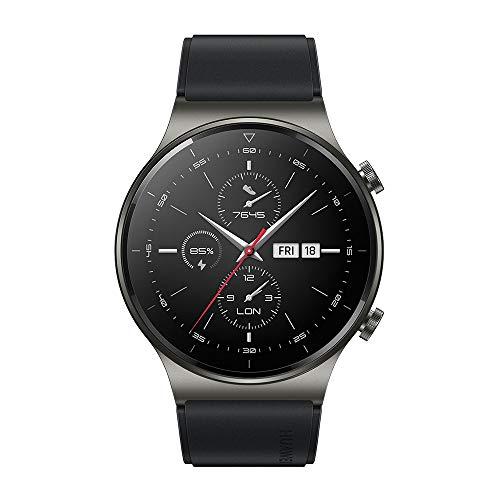 """HUAWEI Watch GT 2 Pro - Smartwatchcon Pantalla AMOLED de 1.39"""", hasta Dos semanas de batería, Grey, 46 mm"""