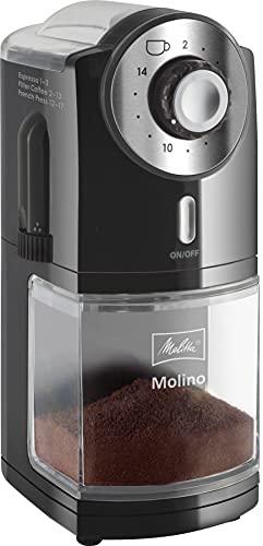 Melitta Molino, Noir, 1019-02, Moulin à...