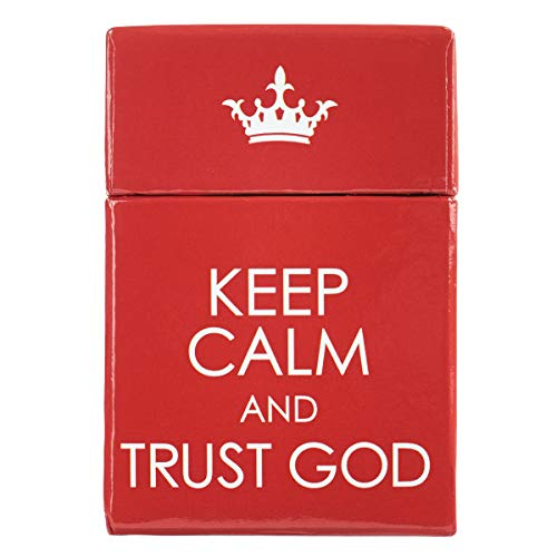 Keep Calm & Trust God, A Box of Blessings