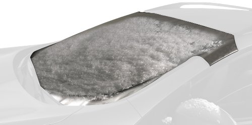 Intro-Tech BM-23-S Custom Fit Windshield Snow Shade for Select BMW X3 Models, Silver