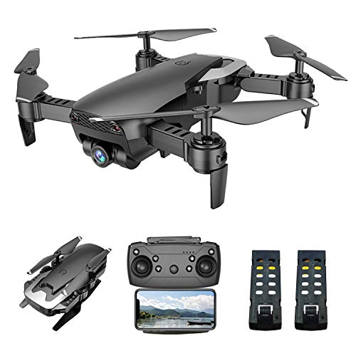 VOLANTEXRC FPV RC Drone with 1080P HD Camera for Adults and Kids, Foldable Quadcopter with Wide Angle Live Video, Follow Mode Drones with App Control, Optical Flow, Altitude Hold, Headless Mode