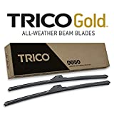 TRICO Gold 18-2222 All Weather Beam Wiper Blades - 22'+ 22' (Pack of 2)