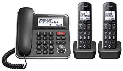 Panasonic Expandable Corded/Cordless Phone System...