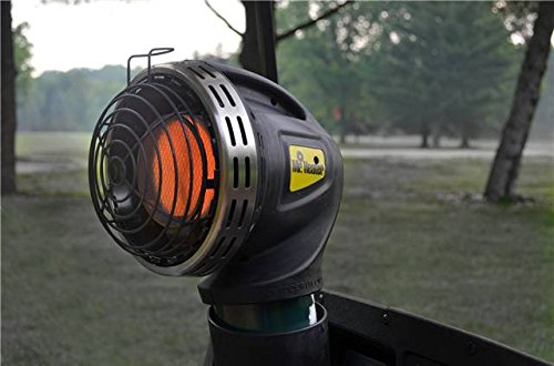 Mr. Heater F242010  MH4GC Golf Cart Heater,Silver and Black