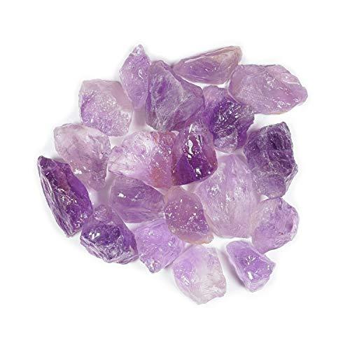 Crystal Allies 3 Pound Bulk Rough Amethyst Reiki Crystal...