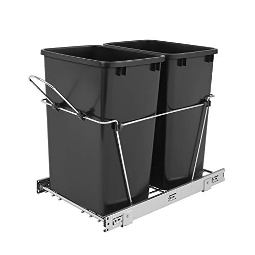 41rXaG3aeOL - Best 15 Under Sink Trash Cans Reviews 2020