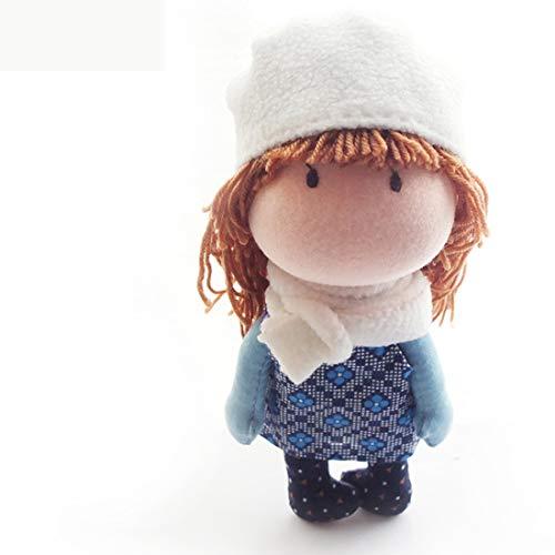 MAJOZ0 Kit de fabricación de muñecas, DIY 17,5 cm, kit de