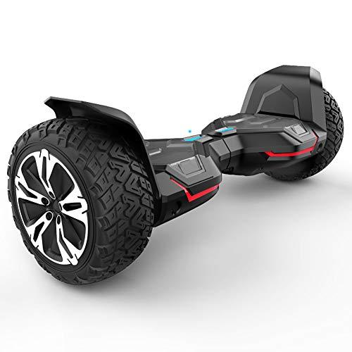 ZHENAI Auto Bilanciamento Scooter Hoverboards 8.5 '' all Terrain Scooter Elettrico off-Road - LED...