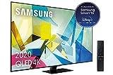 Samsung QLED 2020 65Q80T - Smart TV de 65' 4K UHD, Direct Full Array HDR 1500, Inteligencia Artificial, HDR 10+, Ambient Mode+, One Remote Control y Asistentes de Voz integrado, con Alexa integrada