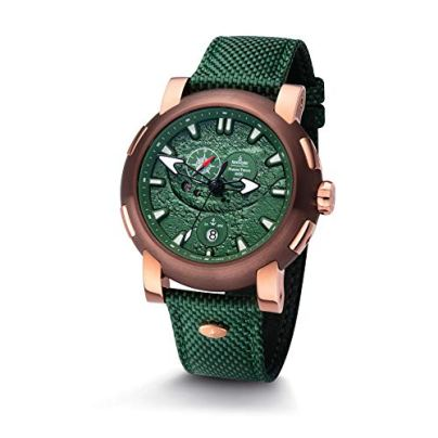 Kronsegler Mariana Trench Automatic Watch Rose Green