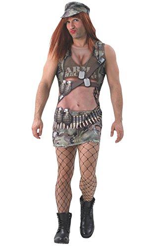 Rubies - Disfraz Oficial de Annie del ejército de la atracción Real para Adultos, Talla XL, para Despedida de Soltera y Despedida de Soltera