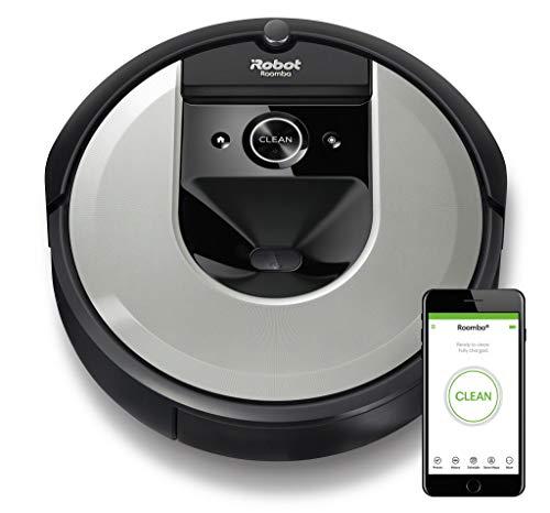 iRobot Roomba i7156 Robot Aspirapolvere, Memorizza la planimetria della tua casa, Adatto per Peli di...