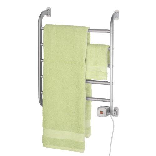 Warmrails HSRS Regent Wall Mounted Towel Warmer, Nickel Finish