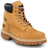 Timberland PRO Direct Attach Men's, Wheat, Soft Toe, Slip Resistant, Waterproof, 6-inch Boot (9.5 M)