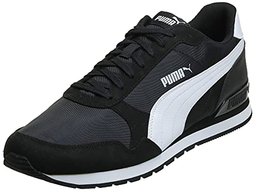 PUMA ST Runner v2 NL, Zapatillas Unisex Adulto, Negro Black White, 43 EU