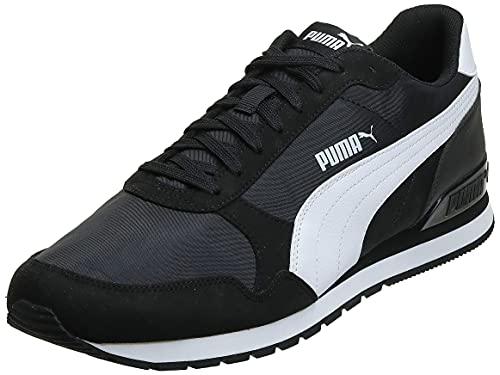 Puma St Runner V2 NL, Scarpe da Ginnastica Unisex-Adulto, Nero Black White, 42 EU
