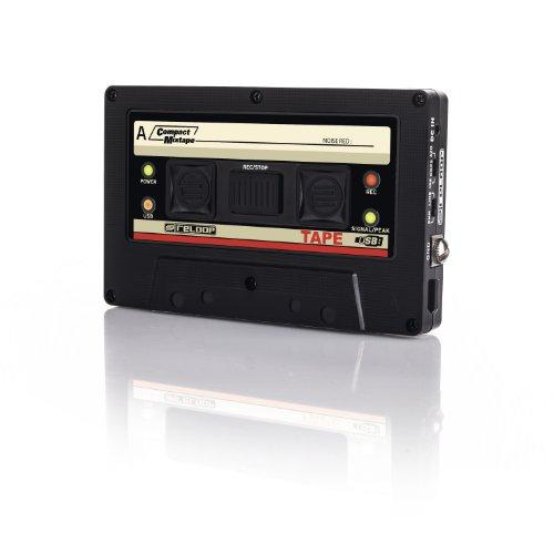Reloop Tape - Registratore di mix tape USB con aspetto retr, registrazione diretta di set di mix su chiavette USB o hard disk esterni USB
