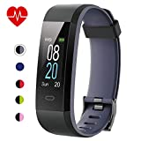 Willful Fitness Tracker with Heart Rate Monitor IP68 Waterproof, Activity Tracker (14 Modes) Pedometer with...