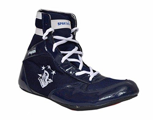 Spartan Blue Boxing Shoes (6)