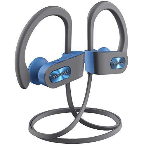Cuffie Bluetooth Sport Bass+, Mpow Auricolari Bluetooth Sport CVC 6.0, Cuffie Bluetooth Senza Fili 10 Ore di Gioco,Cuffie Bluetooth 5.0 In-ear con Qualità Audio HD, IPX7 Impermeabili,per iOS,Android