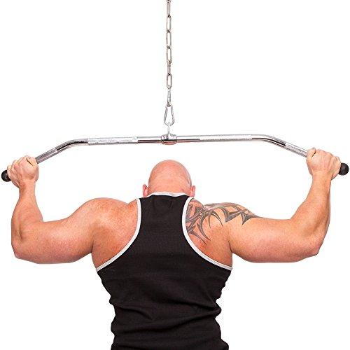 CP Sports Ergo-Latzugstange 125cm
