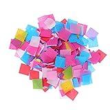 Milisten 1 Pack 60G Papier de Soie Confettis de Table Multi Couleur en...