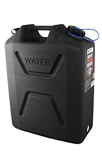 Wavian USA 3215 Black 22 L Heavy Duty Food Grade Water Can