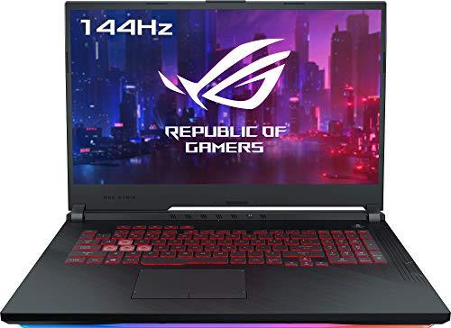 "ASUS ROG Strix G731GU-EV038T, Portátil Gaming de 17.3"" FullHD (Intel Core i7-9750H, 16GB RAM, 256 SSD + 1TB HDD, GTX 1660-6GB, Windows 10) Metal Negro - Teclado QWERTY Español"