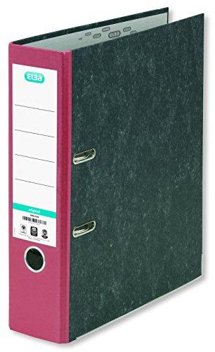 Elba 100023250 - Raccoglitore 'Smart Original' 1 Pezzo, 80 mm, Rosso