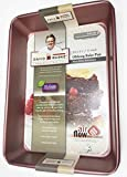 David Burke Kitchen Non-stick Bakeware Oblong Bake Pan 13 x 9 x 2 1/2 inches (ROSE GOLD)