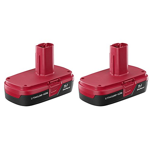 Craftsman C3 19.2 Volt Lithium Ion Battery (2 Pack) - Bulk Packaged
