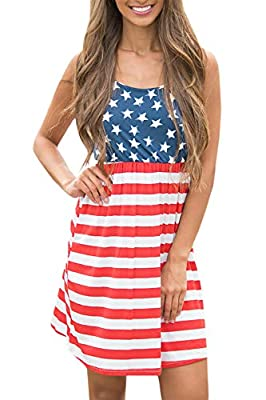 "YOUR PATRIOTISM - Showing Your Pride In Our Land Of Liberty With This Gorgeous Dress! This USA Flag Dress is So Dreamy - It's Perfect For Your Next 4th Of July Celebration! More American Flag Clothing Can Search ""Spadehill July 4th"", This Patriotic B..."