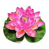 XIAOUXING Plantas artificiales al aire libre, flores artificiales, decoración...