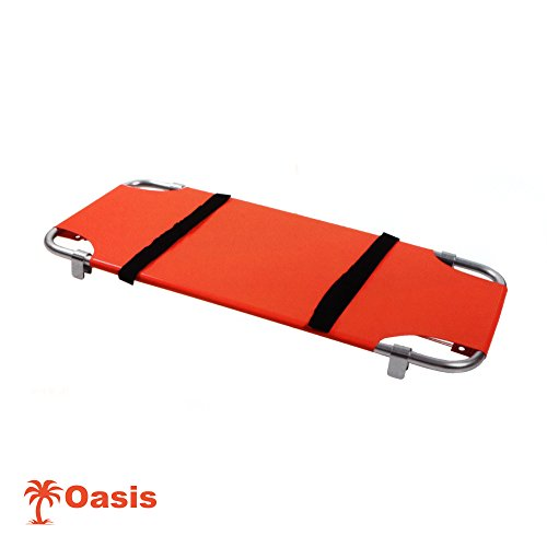 Animal Stretcher, Washable, Durable Material, 24 X 50, Orange, Each