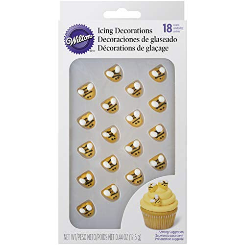 Wilton Bumblebee Icing Decorations