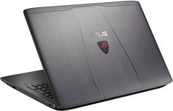ASUS ROG GL552VW-DH74 15-Inch Gaming Laptop, Discrete GPU GeForce GTX 960M 4GB VRAM, 16GB DDR4, 1TB, 128GB SSD (ROG Metallic)