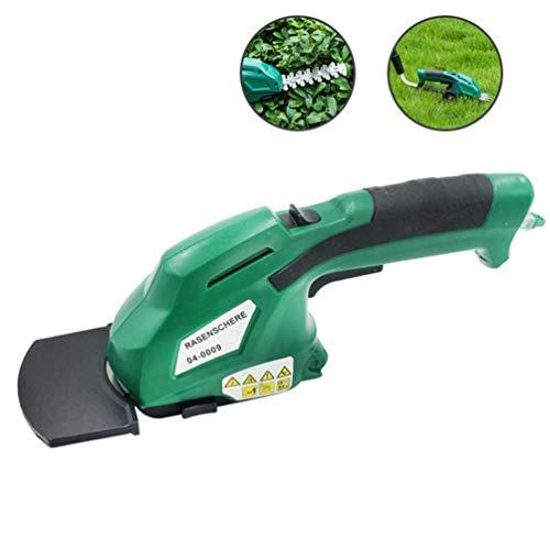 Weeder meccanico, Multi-Function Lawn Mower, Wireless Home elettrico ricaricabile Lawn Mower,...