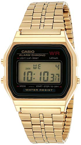 Casio Collection Unisex-Armbanduhr A159WGEA 1EF