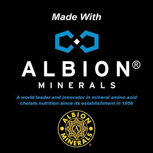 (3 Bottles) Powerful ZINC Glycinate from Albion® Boosted with 5 Extra Essential Trace Minerals to Support Metabolism, DNA and Enhanced Supplement 90 Plant-Based Vegan Capsules 4