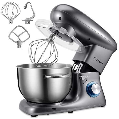 Cookmii | Keukenmachine | 1800 W | 6.5L | Met 6 snelheden
