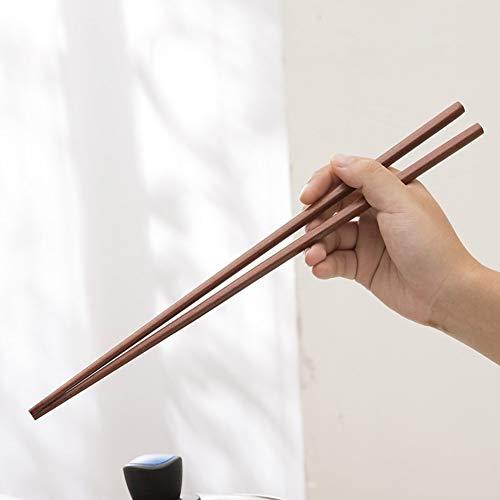 Palillos de madera de 42 cm para olla caliente, freír, pali