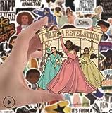 SZYND Broadway Musical Alexander Hamilton Maleta teléfono Ordenador Coche Casco Pegatinas Impermeables 50 Piezas