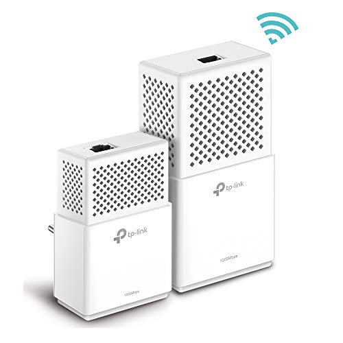 TP-Link TL-WPA7510 Kit Powerline WiFi, AV1000 Mbps...