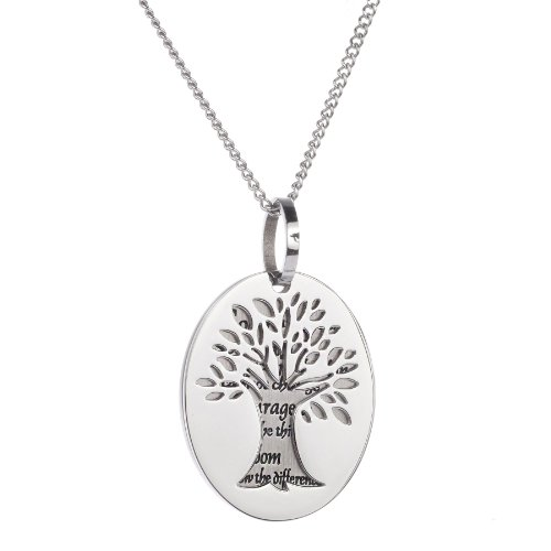 Serenity Prayer Necklace for Women- God Grant Me The...