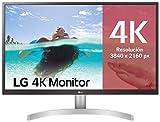 LG 27UL500-W - Monitor 4K UHD de 68, 6 cm (27') con Panel IPS (3840 x 2160 pxeles, 16:9, 300 cd/m, sRGB 98%, 1000:1, 5 ms, 60 Hz) Color Blanco
