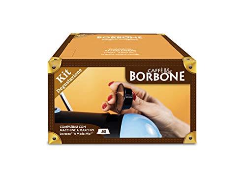Caffè Borbone Kit Degustazione - Confezione da 60 Capsule - Compatibili con macchine a marchio Lavazza* A Modo Mio*
